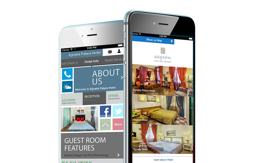 mobile conscierge - Aegeon Hotels
